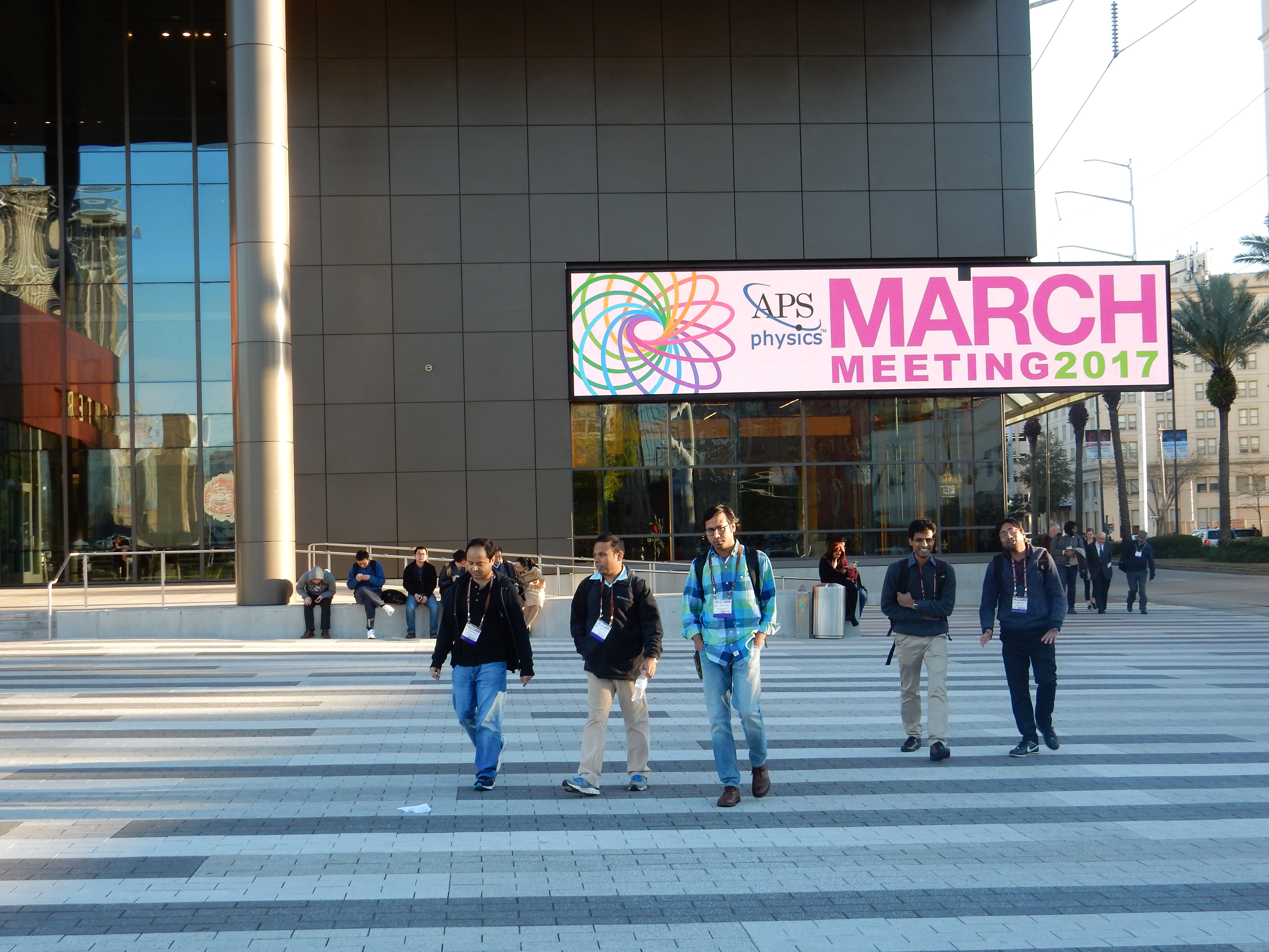 american physical society meeting The american physical society is a non-profit membership organization working from the annual aps march meeting, the largest physics meeting in the world.