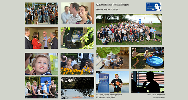 Collage zum Emmy Noether-Treffen 2013