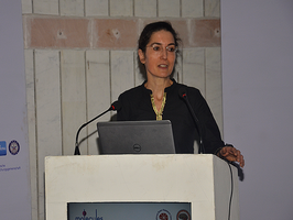 Prof. Brigitte Röder giving special lecture during Annual Meeting of Indian Academy of Neurosciences (IAN)