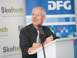 DFG Vice-President Frank Allgöwer opens Week of the Young Researcher 2017 at the Skolkovo Institute for Science and Technology