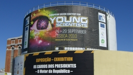 Der 22. European Union Contest for Young Scientists in Lissabon