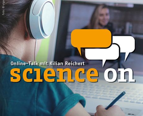 Banner des 8. Science On Talks zum Thema