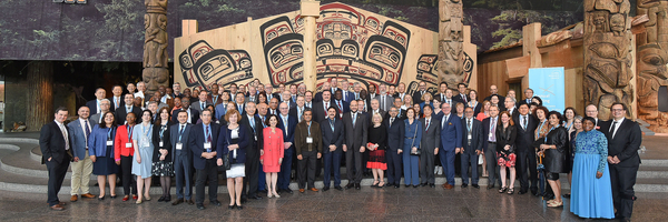 Gruppenbild des GRC Annual Meeting 2017 im Canadian Museum of History, Ottawa
