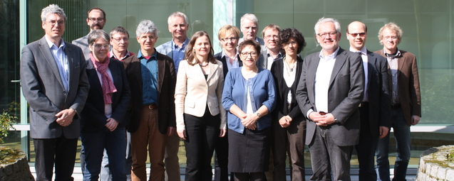 The Alliance working group Infrastructures in Terrestrial Research officially commenced its duties on 14 March 2014 in Bonn.