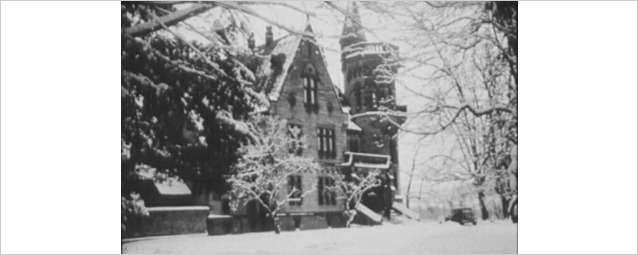 The first home of the DFG's Head Office after the Second World War: a villa on the Rhine, Bad Godesberg 1950