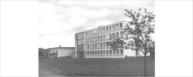 The newly constructed DFG Head Office in 1954, Bonn-Bad Godesberg