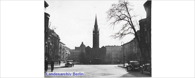 The Matthäikirchplatz near the Tiergarten, Berlin, 3 March 1939