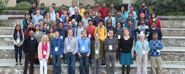 Group photo of the Spring School