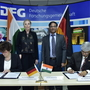 Signing of the Programme of Cooperation 2018 between DFG and DST