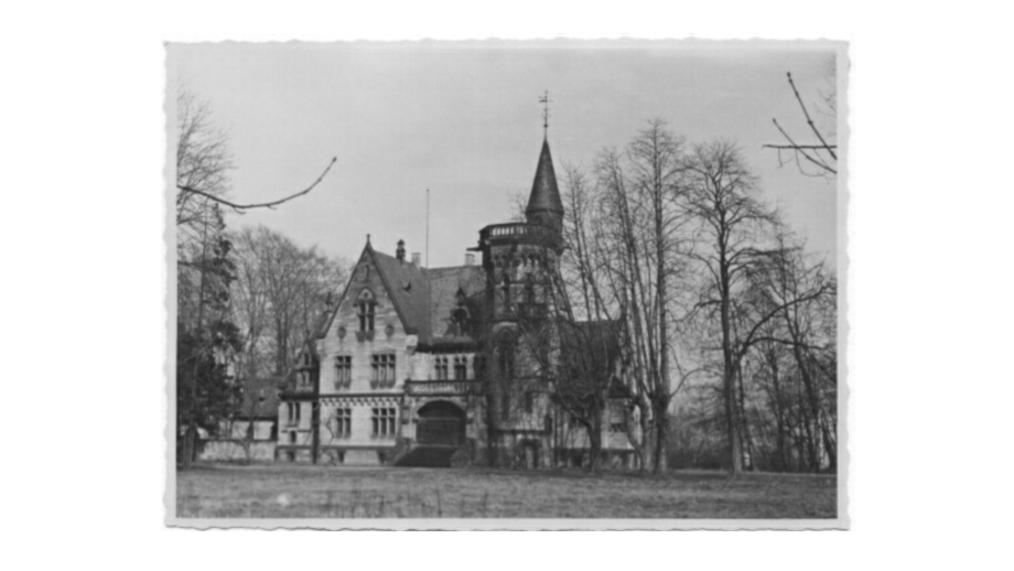The villa in Büchelstraße 55 (now Am Büchel) in 1949