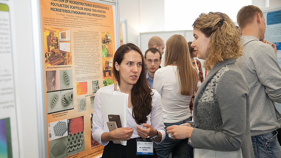 Early career researchers present their work at Skoltech