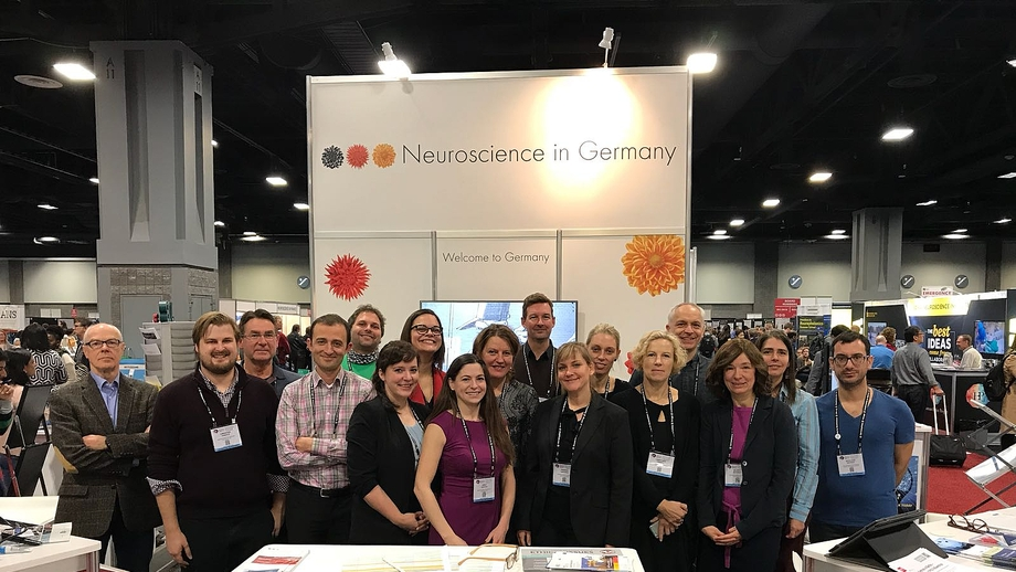 """Neuroscience in Germany""-Vertreter auf der 47. Jahrestagung der Society for Neuroscience in Washington, DC"
