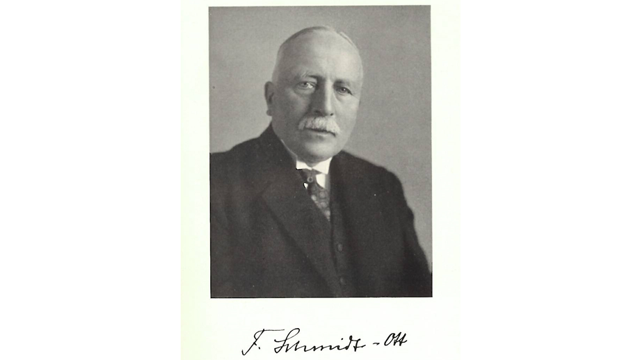 Friedrich Schmidt-Ott, President of the Notgemeinschaft from 1920 to 1934