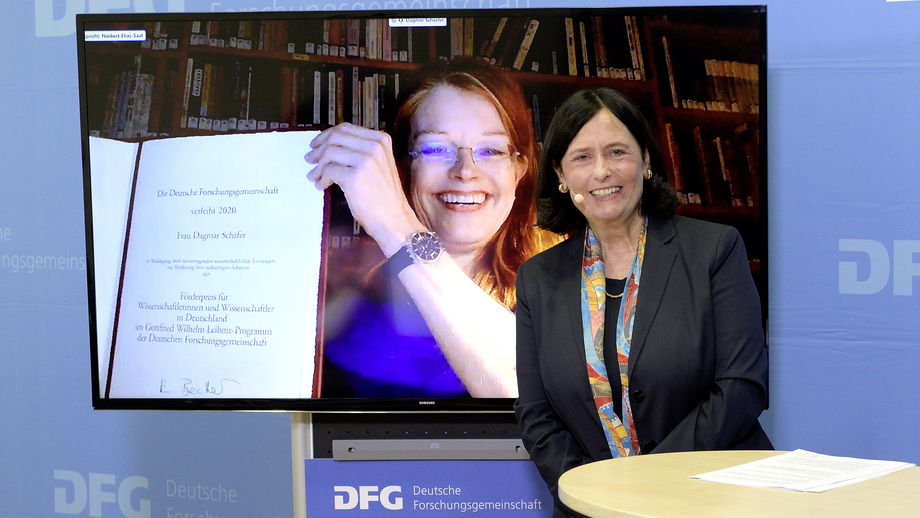 Juliane Vogel mit Katja Becker